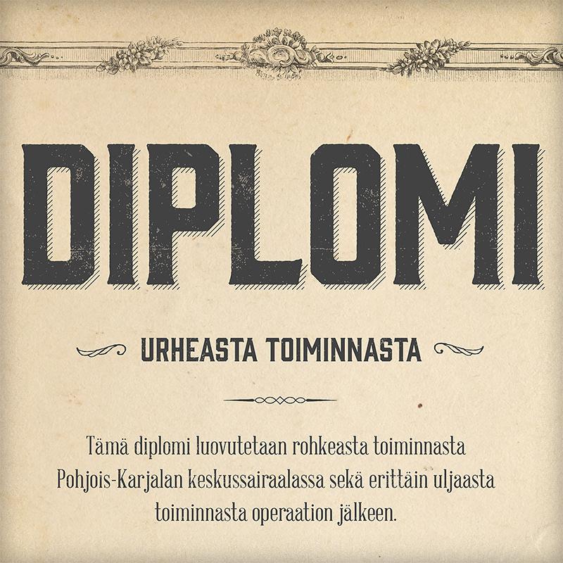 Diplomipohja